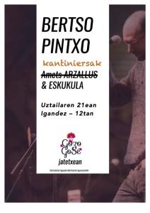 Afitxa Bertso Pintxo 2019