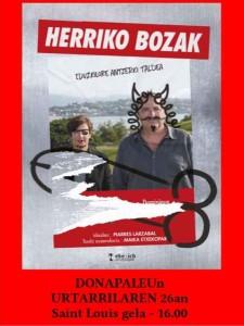 herriko bozak afitxa